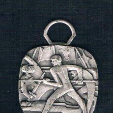 Medallas históricas: SOLDADO CON LANZA EN LA BATALLA. Lote 47574267