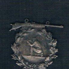 Medallas históricas: SOLDADO CON METRALLETA CON REMATADO DE ESCOPETA. Lote 47574744