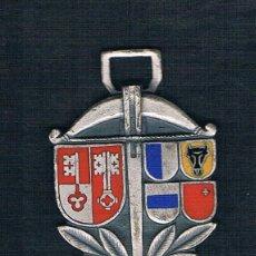 Medallas históricas: ESCUDOS VARIOS SOBRE FONDOS PLATEADOS. Lote 47574950