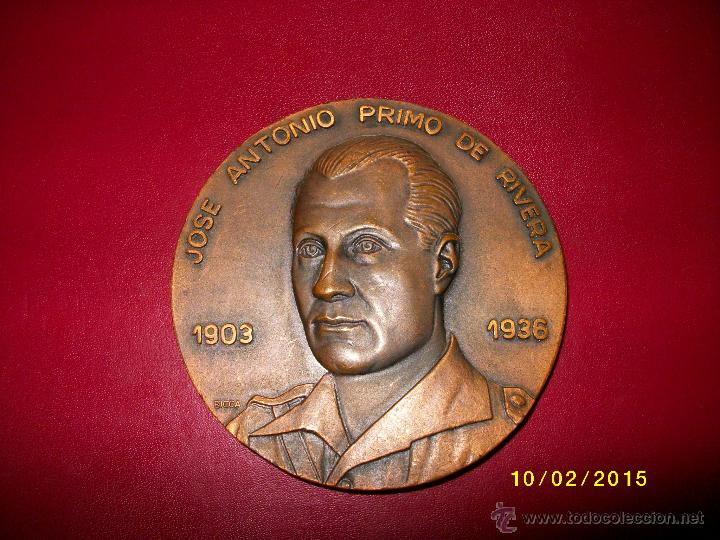 JOSE ANTONIO PRIMO DE RIVERA 1903-1936 MEDALLA (Numismática - Medallería - Histórica)
