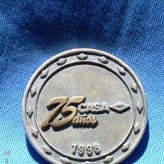 Medallas históricas: MEDALLA CONMEMORATIVA - 75 AÑOS CASA - 1923/1998. Lote 64574295