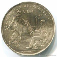 Medallas históricas: BELGICA. MEDALLA DE LA EXPOSICIÓN UNIVERSAL DE LIEJA 1905. 30MM.. Lote 48587337