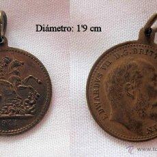 Medallas históricas: MEDALLA 1911 CORONACION DE EDUARDO VII. Lote 48840229