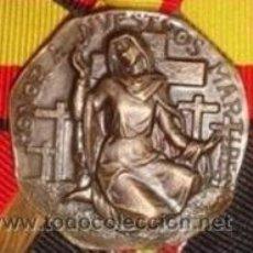 Medallas históricas: MEDALLA MÁRTIRES DE CIUDAD REAL. BRONCE. 1.963. Lote 48870718