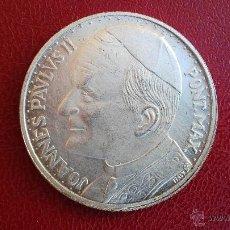 Medallas históricas: MEDALLA VIAJE DEL PAPA A ESPAÑA JUAN PABLO II. Lote 48934617