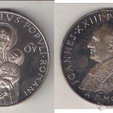 Medallas históricas: MEDALLA GRANDE DE JUAN XXIII DE 1961. SALUS POPULI ROMANI. VATICANO. PLATA. PÁTINA MUY BONITA (PA71). Lote 122399048