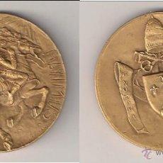 Medallas históricas: MEDALLA DEL PAPA PABLO VI DE 1963. CONVERSIÓN DE SAN PABLO. VATICANO. BRONCE. (PA76).. Lote 49104602