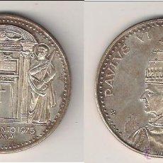 Medallas históricas: MEDALLA DEL PAPA PABLO VI DE 1975. AÑO SANTO. VATICANO. PLATA. (PA77).. Lote 49104826