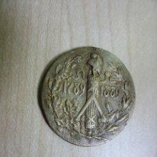 Medallas históricas: PLACA DEL PRIMER ANIVERSARIO DE LA REVOLUCIÓN FRANCESA 1789-1889. Lote 49272963