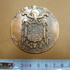 Medallas históricas: MEDALLA FRANQUISTA - EN BRONCE. - PB3. Lote 49469739