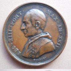 Medallas históricas: MEDALLA VATICANO LEÓN XIII , PUERTA SANTA AÑO 1900. Lote 49526556