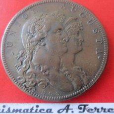 Medallas históricas: MEDALLA DE LA BODA DE CARLOS IV. 1801. Lote 49630600