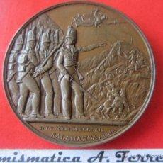 Medallas históricas: MEDALLA DE SALAMANCA. BATALLA DE ARAPILES 1812. Lote 49638282