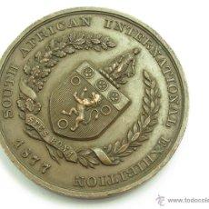Medallas históricas: MEDALLA SUDAFRICA 1877 CIUDAD DEL CABO BANCO COMERCIAL MEDALLÓN MUY RARA. Lote 50044904