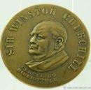Medallas históricas: MEDALLA CHURCHILL 56MM. Lote 50535030
