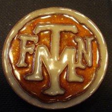 Medallas históricas: MEDALLA FNMT COBRE ESMALTADO 4 CMS. DIÁMETRO. Lote 50762582