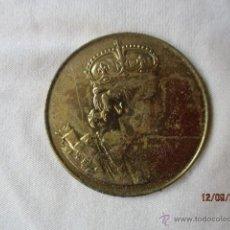 Medallas históricas: MEDALLA CORONACION ELIZABETH II- 1953. Lote 51382476