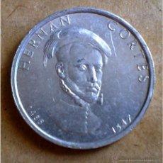 Medallas históricas: MONEDA DE HERNÁN CORTÉS EN ALUMINIO (25 MM DE DIÁMETRO) . Lote 51429204