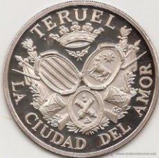 Medallas históricas: MEDALLA DE TERUEL. 55 MM. ACUÑADA POR ACUÑACIONES PARÍS SA CON EL PATROCINIO DEL BANCO ZARAGOZANO5.. Lote 51789451