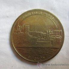 Medallas históricas: MEDALLA: PALAIS DES PAPES - AVIGNON / MEDALLES ET PATRIMONI 2015. Lote 52197447