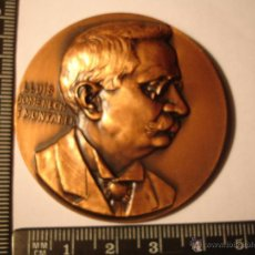 Medallas históricas: MEDALLA CONMEMORATIVA LLUIS DOMENECH I MONTANER. Lote 52588443