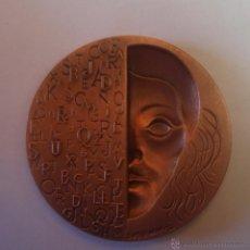 Medallas históricas: MEDALLA SUBIRACHS 1986-BARCELONA DIARIO LA VANGUARDIA 50MM-COBRE SIN CIRCULAR. Lote 52705715