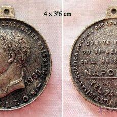 Medallas históricas: MEDALLA BICENTENARIO NAPOLEON 1969 CORCEGA CORSOS. Lote 52767626