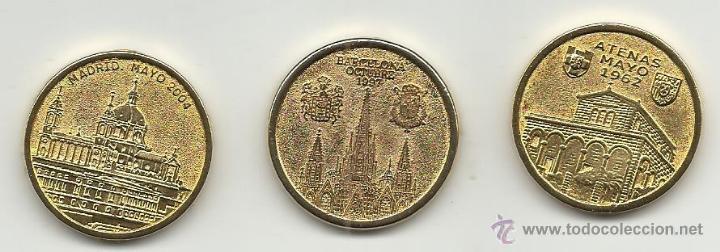 Medallas históricas: COLECCION DE MEDALLAS LAS BODAS DE LOS REYES JUAN CARLOS Y SOFIA FELIPE Y LETIZIA IÑAKI Y CRISTINA - Foto 2 - 52789500