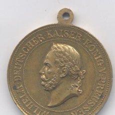 Medallas históricas: MEDALLA-ALEMANIA-GUILLERMO V KAISER-1861-1881. Lote 52895965
