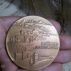 Medallas históricas: MEDALLA ESTADO JERUSALEM 1983. Lote 52903598