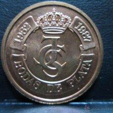 Medallas históricas: BODAS DE PLATA 1987 JUAN CARLOS I Y SOFIA. Lote 53125959