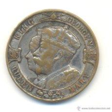 Medallas históricas: INGLATERRA MEDALLA 1910-1935 JORGE V QUEEN MARY INGLATERRA 33 MM.. Lote 53287084
