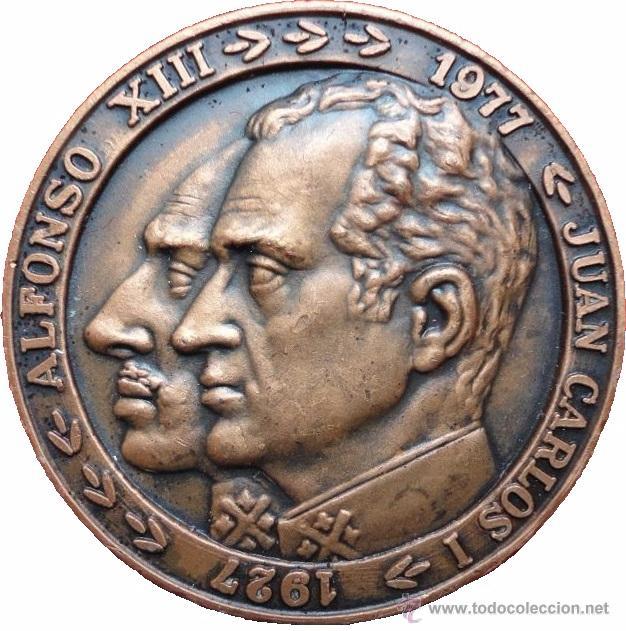 Medallas históricas: ESPAÑA. MEDALLA 50 ANIVERSARIO IBERIA. 1.977. CON ESTUCHE ORIGINAL - Foto 2 - 53358168