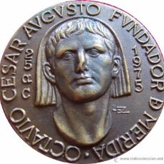 Medallas históricas: MEDALLA BIMILENARIO DE LA FUNDACIÓN DE MÉRIDA. 1.975. Lote 48422042