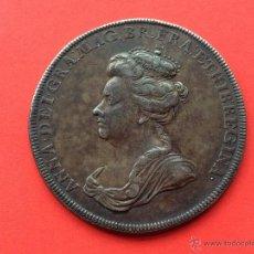 Medallas históricas: ¡¡ RARA !! PRECIOSA MEDALLA DE PLATA DE LA REINA ANA DE INGLATERRA. BATALLA DE RANDE (VIGO) AÑO 1702. Lote 53632231