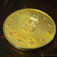 Medallas históricas: MONEDA LUXEMBURGO -- MEDALLA CONMEMORATIVA CEE -- CASTILLO VIANDEN. Lote 53716094