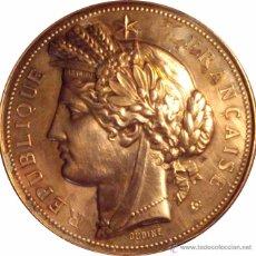 Medallas históricas: FRANCIA. MEDALLA PRIX DE GYMNASTIQUE DE LA GUERRE. CON CAJA ORIGINAL. Lote 48100881