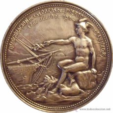 Medallas históricas: MEDALLA ARGENTINA. PUERTO DE SAN NICOLÁS. 1.904. Lote 48472512