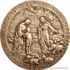 Medallas históricas: MEDALLA BEATIFICACIÓN DE SAN JUAN BOSCO. 1.929. SALESIANOS. Lote 48160005