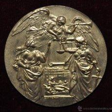 Medallas históricas: GRAN MEDALLA EN BRONCE DE -TO COMMEMORATE THE SIGNING OF PEACE AT VERSAILLES-. Lote 54426829