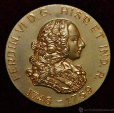 Medallas históricas: MEDALLA CONMEMORATIVA EN BRONCE DE FERDIN VI. CALICO, BARCELONA, AÑO 1964. EQUILIBRIUM. Lote 54457320