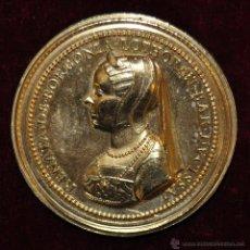 Medallas históricas: MEDALLA FRANCESA EN BRONCE DEL AÑO 1728. ANTHONIVS. D. G. LOTHOR. ET. BAR. DVX.RENATA. DE. BORBONIA. Lote 54457647