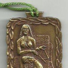 Medallas históricas: PRIMER CENTENARIO S C JUVENTUD TARRASENSE 1858 1958 TERRASSA. Lote 54550703