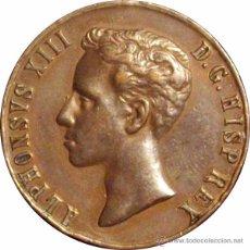 Medallas históricas: ALFONSO XIII. MEDALLA MAYORÍA EDAD. 1.902. 31 MM. Lote 50327946