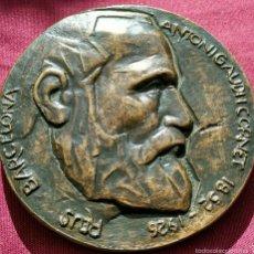 Medallas históricas: MEDALLA ANTONIO GAUDI 150 AÑOS. Lote 54727150