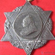 Medallas históricas: INGLATERRA. MEDALLA DE LA REINA VICTORIA 1897.. Lote 54872649