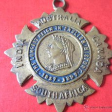 Medallas históricas: INGLATERRA. MEDALLA DE LA REINA VICTORIA AL REINADO MÁS LARGO. 1837/1897. Lote 54872867