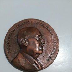 Medallas históricas: MEDALLA,BRONCE FUNDACION NACIONAL FRANCISCO FRANCO-PRIMER ANIVERSARIO MUERTE DEL GENERAL-1976-NUEVA. Lote 55159827