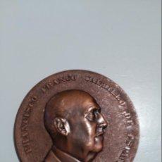 Medallas históricas: MEDALLA,BRONCE FUNDACION NACIONAL FRANCISCO FRANCO-PRIMER ANIVERSARIO MUERTE DEL GENERAL-1976-NUEVA. Lote 55159844