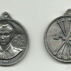 Medallas históricas: PAREJA DE MEDALLAS PLATEADAS DE JOSE ANTONIO PRIMO DE RIVERA 2 DE NOVIEMBRE DE 1936. Lote 124532358